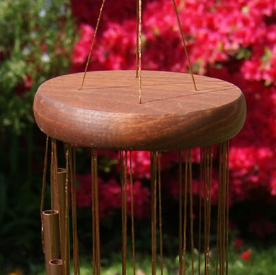 Bronze Spiral Wind Chime The Wind Chime Shop Limited